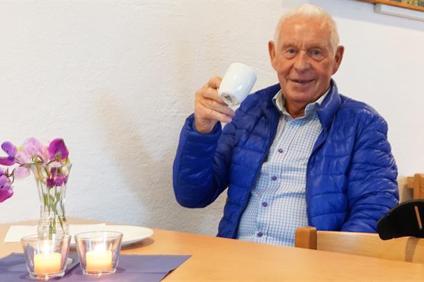 Kafétilbud til pasienter under Sykkel-VM