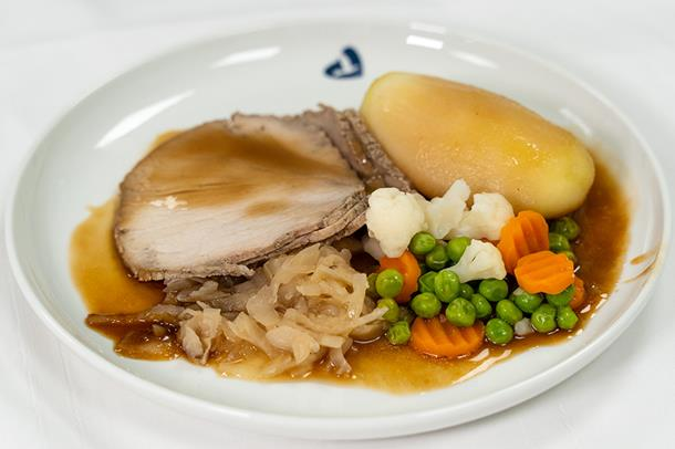 Nå kan pasientene ved Haraldsplass Diakonale Sykehus selv velge hva de skal spise til middag.